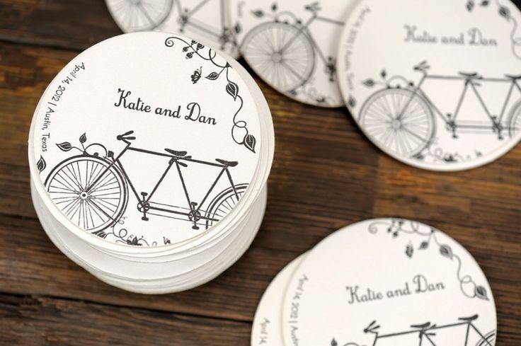 Tema Matrimonio Bicicletta Sposa Felice