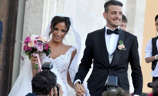 Alessandro Florenzi ed Ilenia Atzori just married !