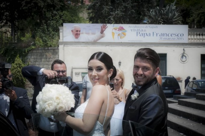 Maradona Junior e Nunzia Pennino wedding day