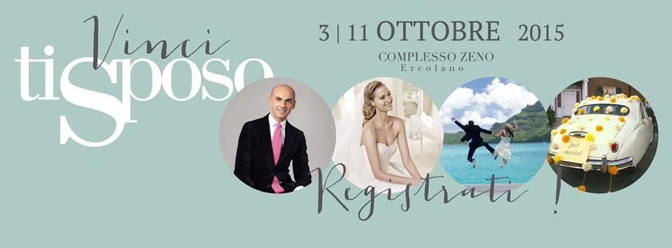 Vinci Ti Sposo .. il concorso del Salone Del Wedding di Ercolano