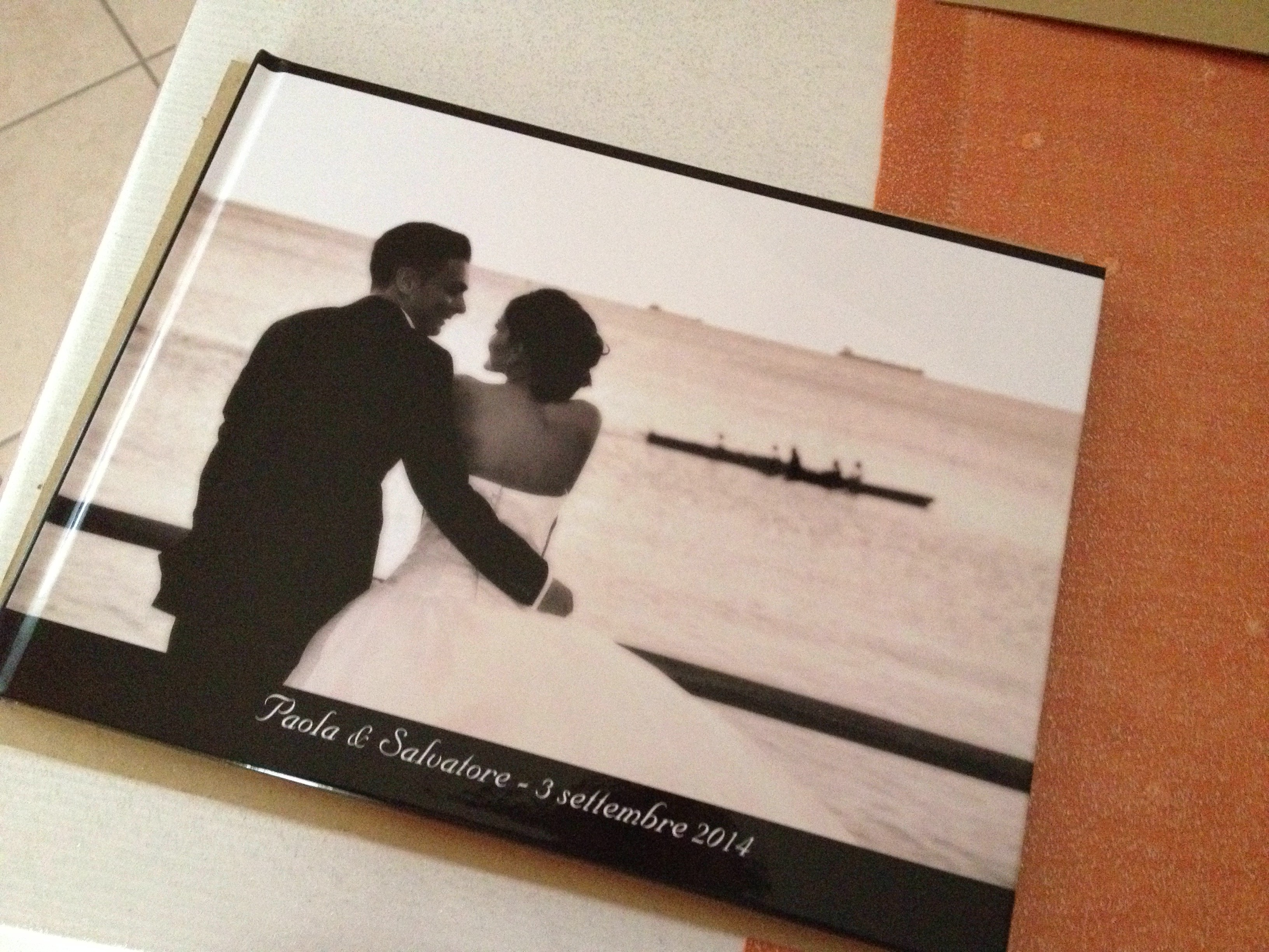 Album matrimonio low cost con Photobox