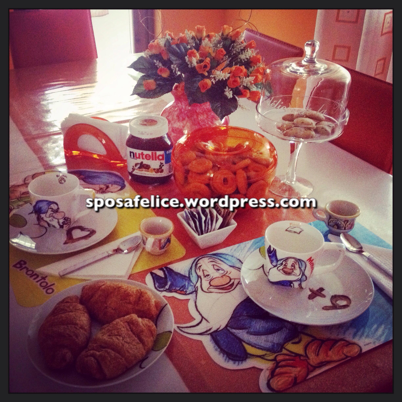 Una colazione per due, la nostra, originale per le ricorrenze speciali !