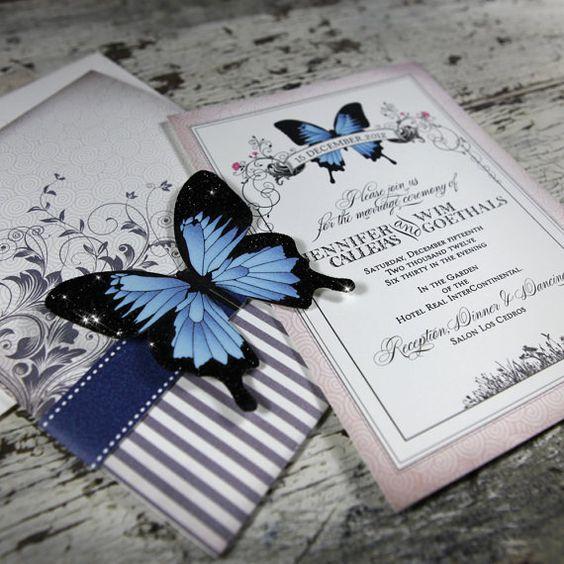 Tema matrimonio farfalle