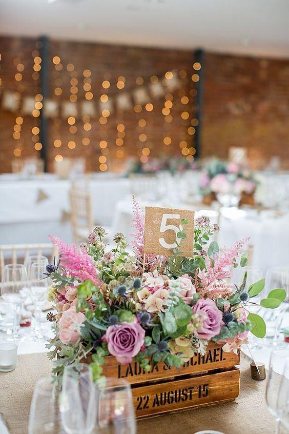 Centrotavola Matrimonio Country Chic : Centrotavola matrimonio originali sposa felice