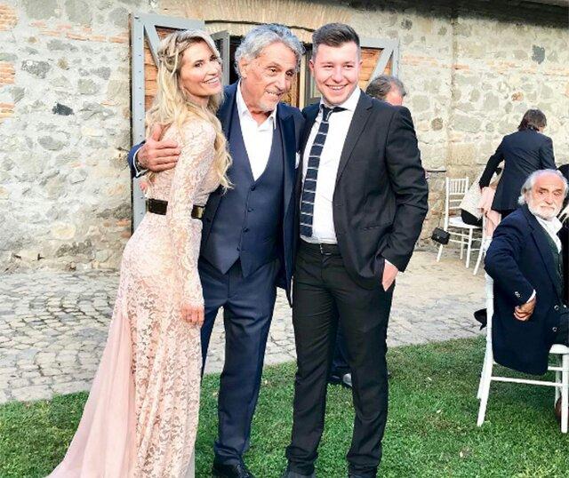 Andrea Roncato sposo a 70 anni