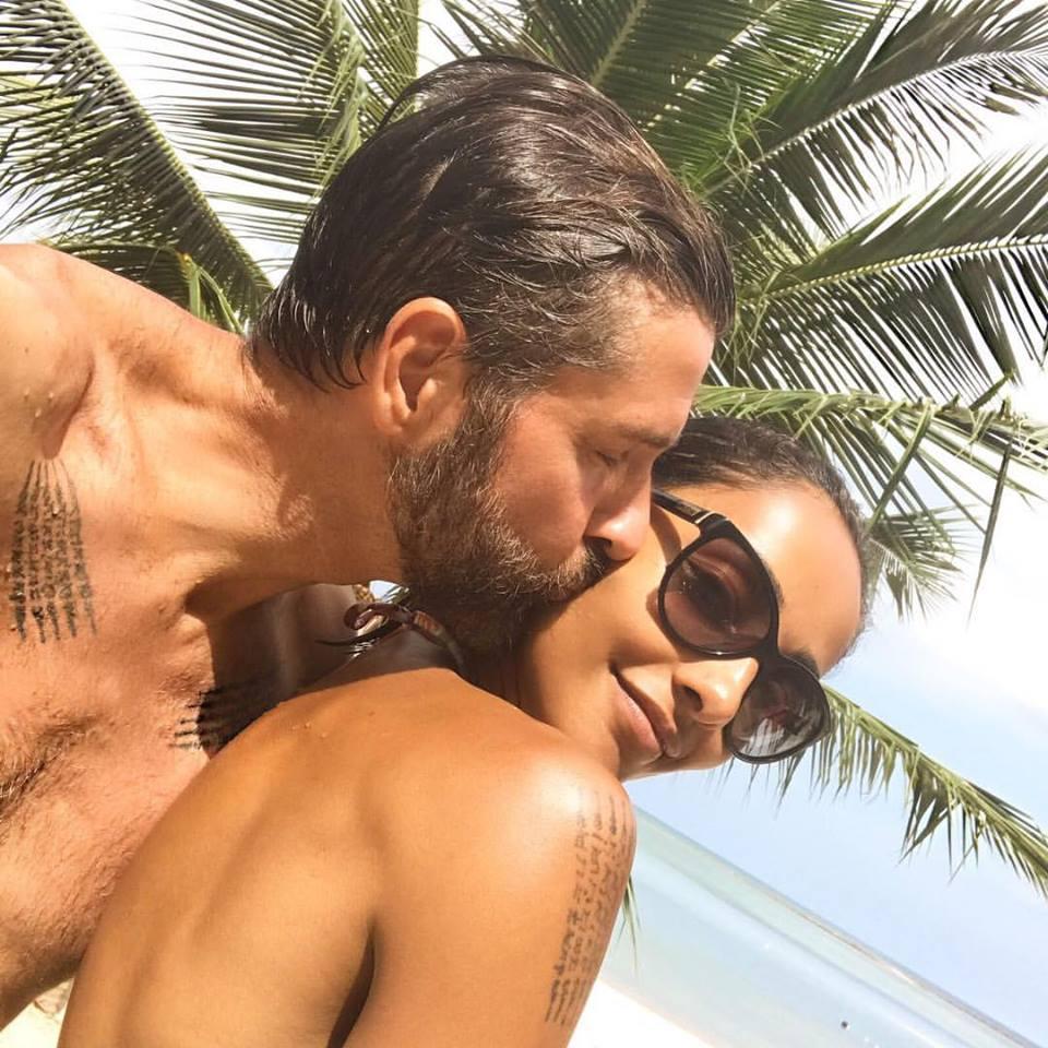 Juliana Moreira e Edoardo Stoppa si sposano