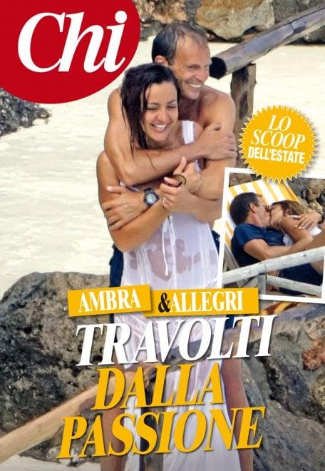 Ambra Angiolini e Massimiliano Allegri nozze in arrivo