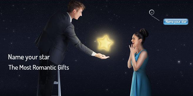 Regala una stella a San Valentino con Etoilez-moi