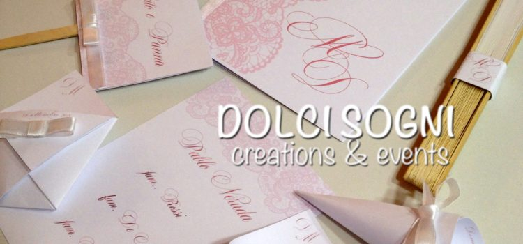 Sweet Romance il wedding set di Dolci Sogni Events