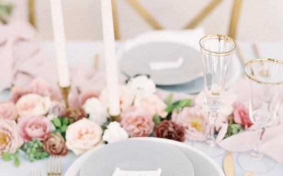 Colori tendenza matrimonio 2018