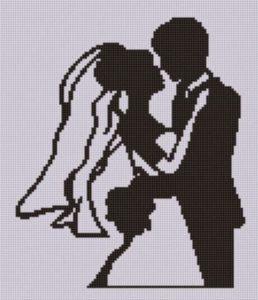 Matrimonio punto a croce idee schemi e tutorial 17