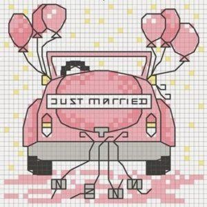 Matrimonio punto a croce idee schemi e tutorial 18