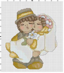 Matrimonio punto a croce idee schemi e tutorial 19
