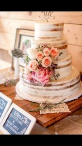 Torte matrimonio naked cake 8
