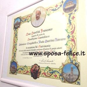 Anniversario Di Matrimonio Benedizione.Benedizione Papale Sposi Come Ottenerla