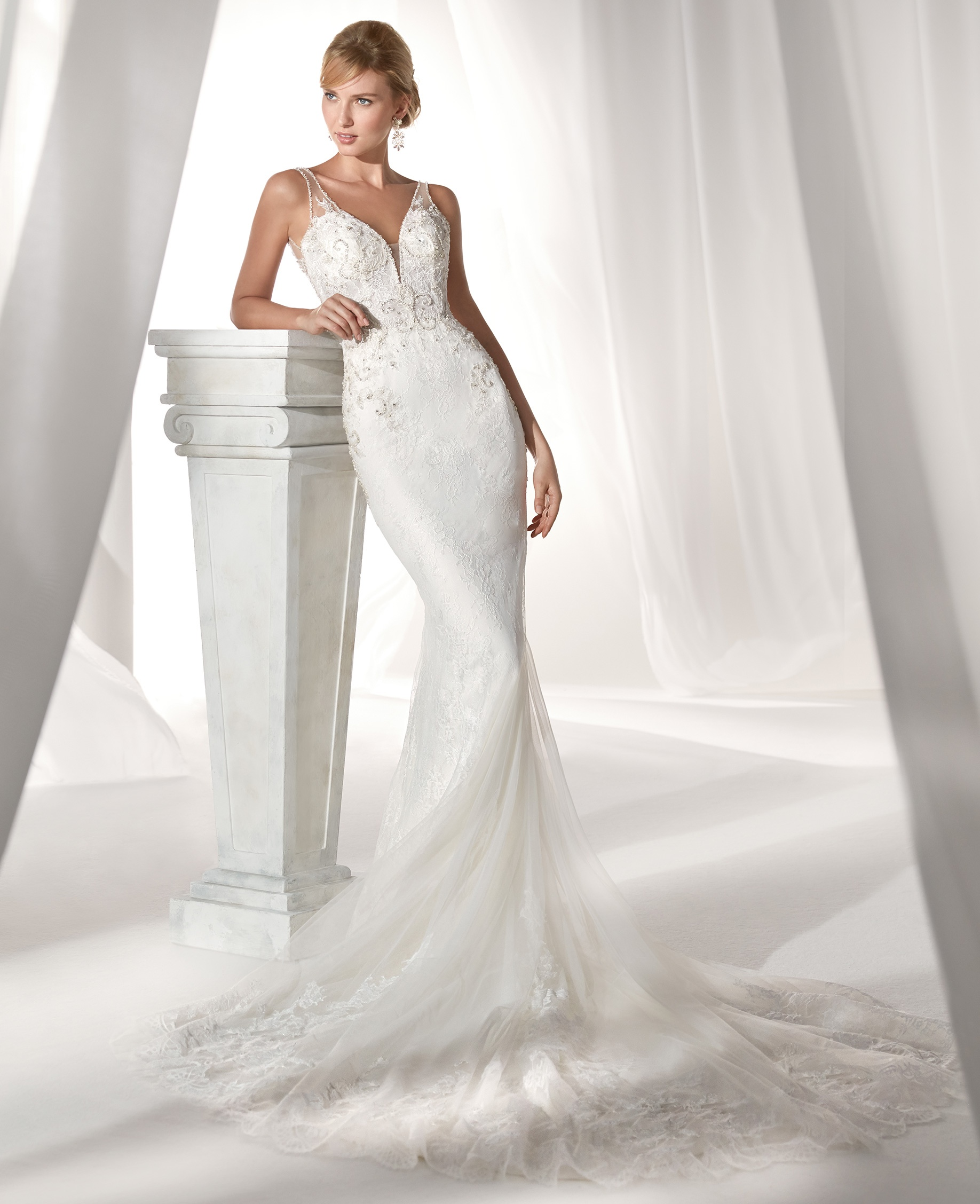 c7181d033a70 nicole spose 2019 nuova collezione abiti da sposa 20 - Sposa Felice