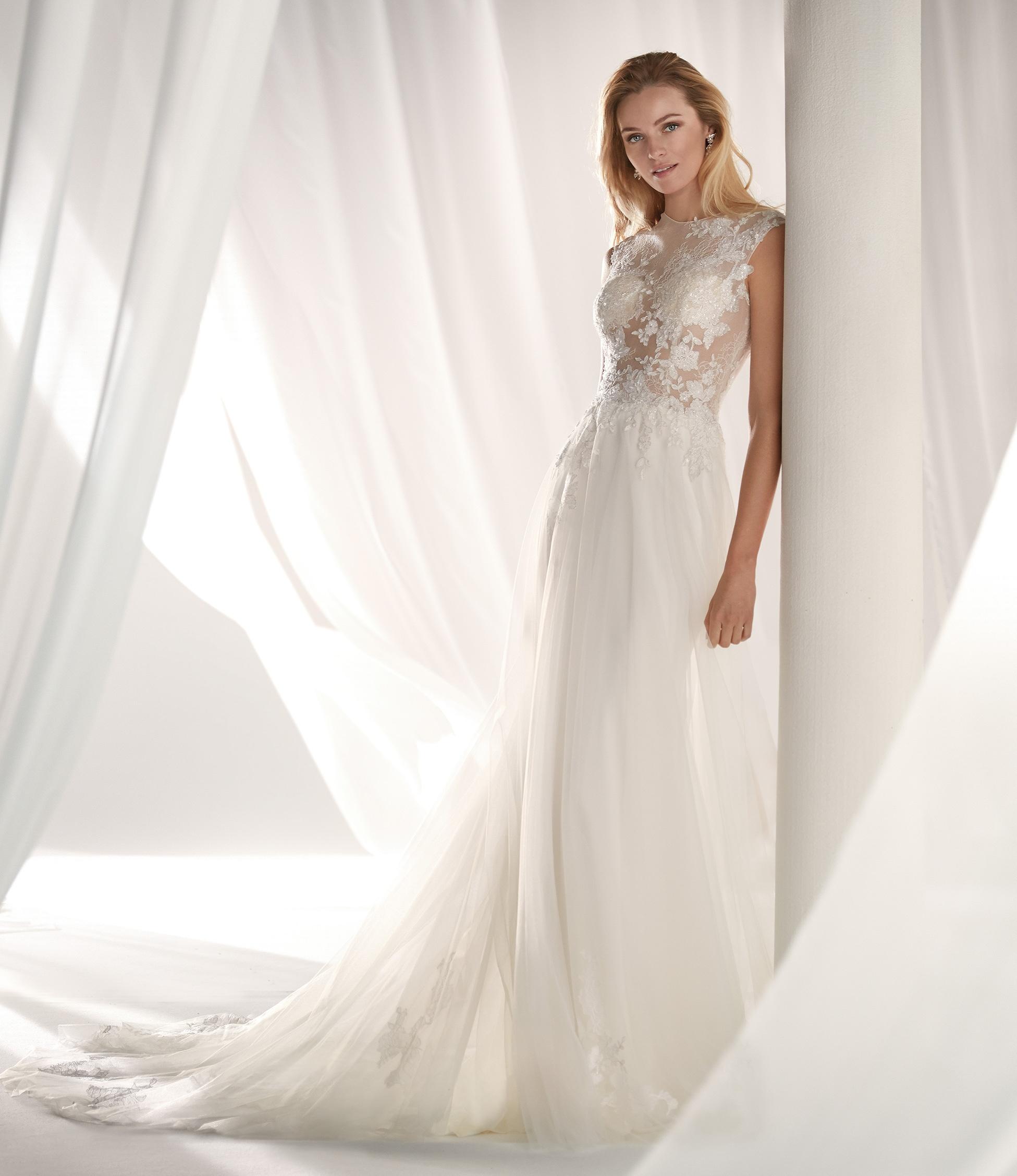 bf939d67b201 nicole spose 2019 nuova collezione abiti da sposa 35 - Sposa Felice