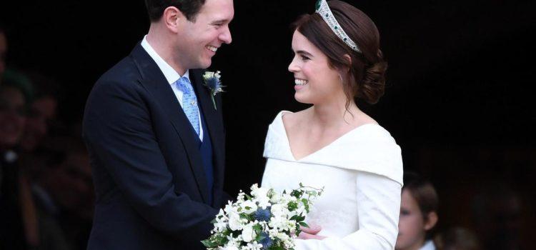 Il royal wedding di Eugenie di York