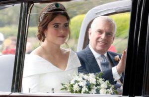 Il royal wedding di Eugenie di York 3