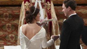 Il royal wedding di Eugenie di York 6
