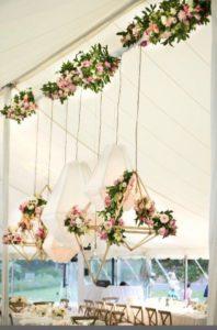 decorazioni floreali matrimonio boho chic 10