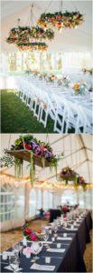 decorazioni floreali matrimonio boho chic 11