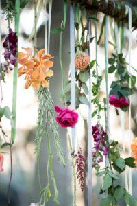 decorazioni floreali matrimonio boho chic 12