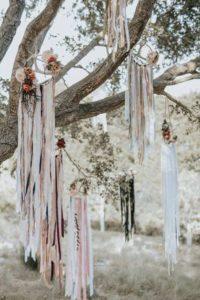 decorazioni floreali matrimonio boho chic 13