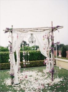 decorazioni floreali matrimonio boho chic 14