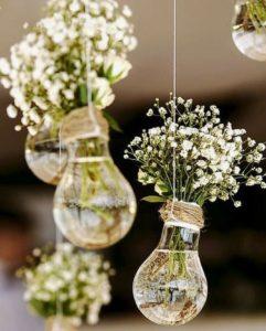 decorazioni floreali matrimonio boho chic 16