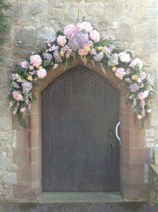 decorazioni floreali matrimonio boho chic 18