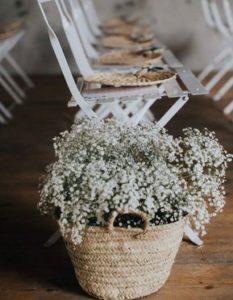 decorazioni floreali matrimonio boho chic 19