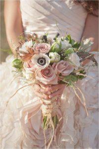 decorazioni floreali matrimonio boho chic 2