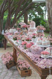 decorazioni floreali matrimonio boho chic 27