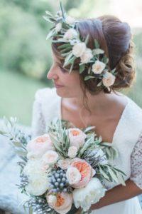 decorazioni floreali matrimonio boho chic 3