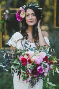 decorazioni floreali matrimonio boho chic 7