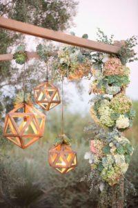 decorazioni floreali matrimonio boho chic 8