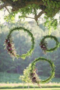 decorazioni floreali matrimonio boho chic 9