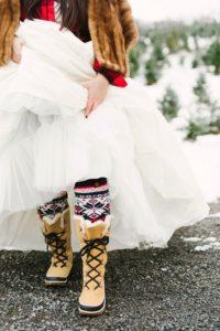 Christmas Wedding Inspiration Board 23