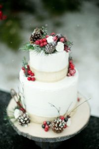 Christmas Wedding Inspiration Board 24