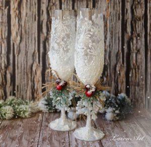 Christmas Wedding Inspiration Board 35