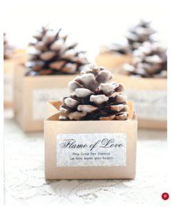 Christmas Wedding Inspiration Board 4