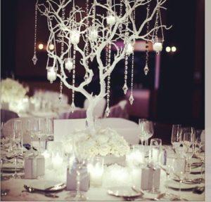 White Christmas Wedding Inspiration Board 13