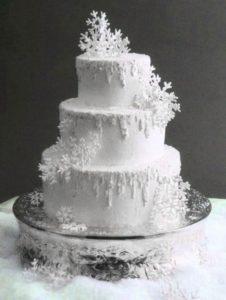 White Christmas Wedding Inspiration Board 17