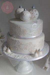 White Christmas Wedding Inspiration Board 27