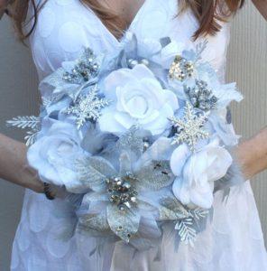 White Christmas Wedding Inspiration Board 30