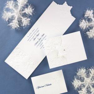 White Christmas Wedding Inspiration Board 37
