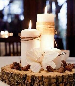 Candele e matrimonio idee per decorare il giorno delle vostre nozze