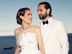 Charlotte Casiraghi matrimonio reale con Dimitri Rassam 2