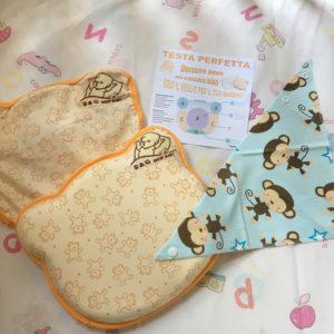 Review cuscino neonato prevenzione plagiocefalia di S&G shop-baby 2